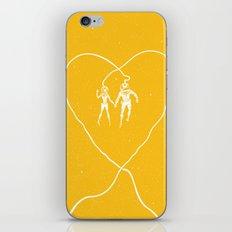 Love Space, Yellow iPhone & iPod Skin