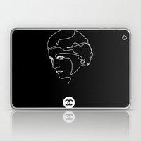 Mademoiselle Coco Silhouette -  Laptop & iPad Skin