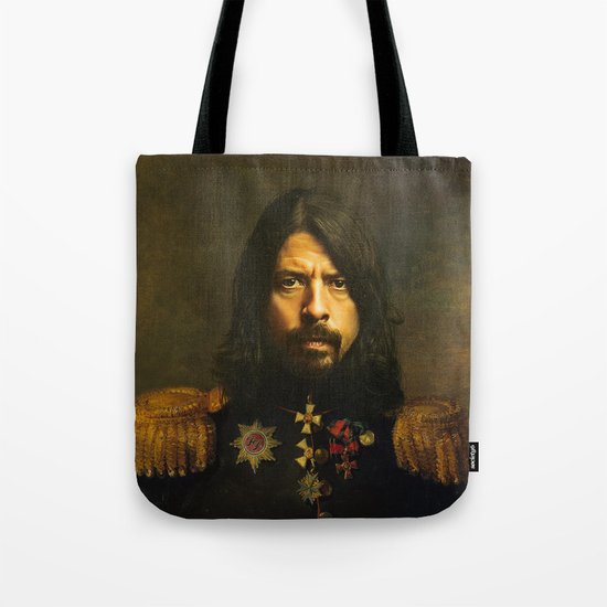 Dave Grohl - replaceface Tote Bag