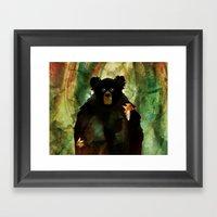The Forest Awakes Framed Art Print