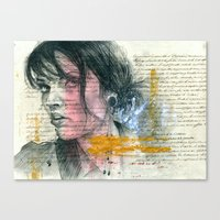 ange Canvas Print