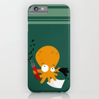 iPhone & iPod Case featuring octopus by Alapapaju