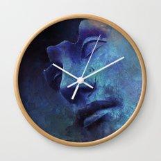 Strange Face Wall Clock