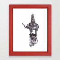 Dali's Dream Framed Art Print