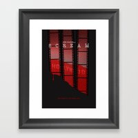 SCREAM 3 (Alternative Mo… Framed Art Print