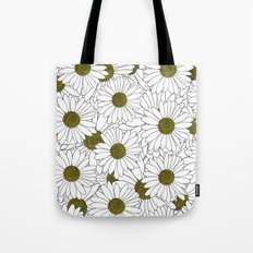 Daisy Yellow Tote Bag
