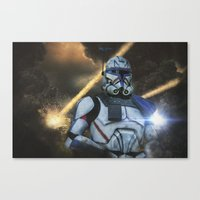 First wave Canvas Print