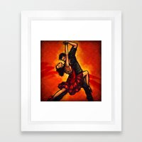salsa Framed Art Print