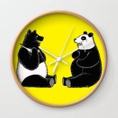 Head Swap Wall Clock