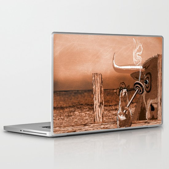 Bulls Eye Laptop & iPad Skin