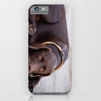 iPhone & iPod Case featuring the hound dog by Drinu Camilleri