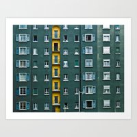 In And Out. Art Print