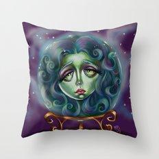 Madame Leota Throw Pillow