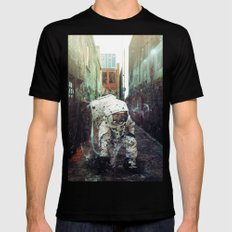 Alley Black Mens Fitted Tee SMALL