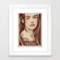 FANTINE Framed Art Print