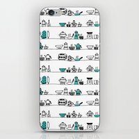 Kitchen Doodle iPhone & iPod Skin