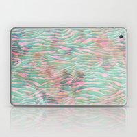 Minty Zebra Laptop & iPad Skin