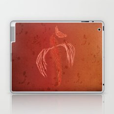 Dragon in red Laptop & iPad Skin