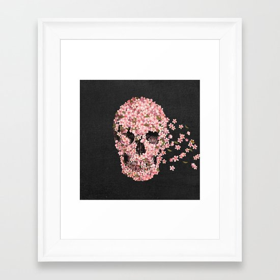 A Beautiful Death  Framed Art Print