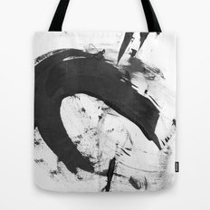B + W Strokes 6 Tote Bag