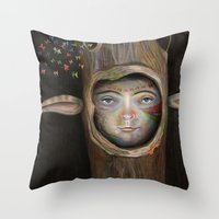 Tree Life Throw Pillow