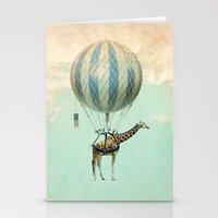 Sticking Your Neck Out Stationery Cards