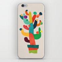 Whimsical Cactus iPhone & iPod Skin