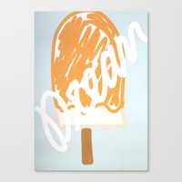 Dreamsicle Canvas Print