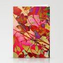 wild floral Stationery Cards