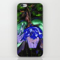 Passion Green iPhone & iPod Skin