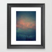 On The Cusp Framed Art Print