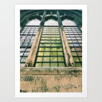 St Dunstan in the East Art Print