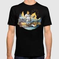 Into the Depths Mens Fitted Tee Black SMALL
