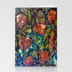 Exotic Floral  Stationery Cards