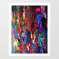 Color Mix / Palette Knif… Art Print
