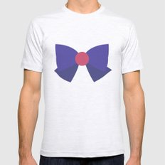 Sailor Mars Bow Mens Fitted Tee Ash Grey SMALL