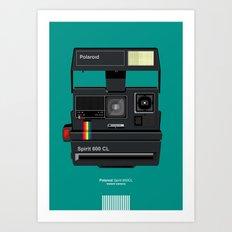 Polaroid II Art Print