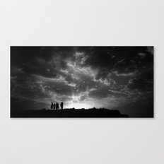 today or maybe tomorrow Canvas Print