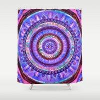 Mandala #2a Shower Curtain