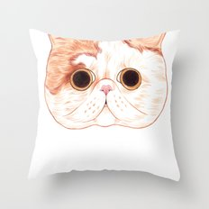 Exotic Shorthair Throw Pillow