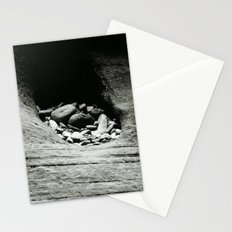 Rocks left after errosion Stationery Cards
