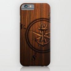 Wooden Anchor iPhone 6 Slim Case
