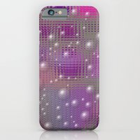 Disco made of purple bubbles iPhone 6 Slim Case