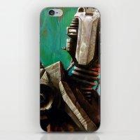Twin #1 Robot iPhone & iPod Skin