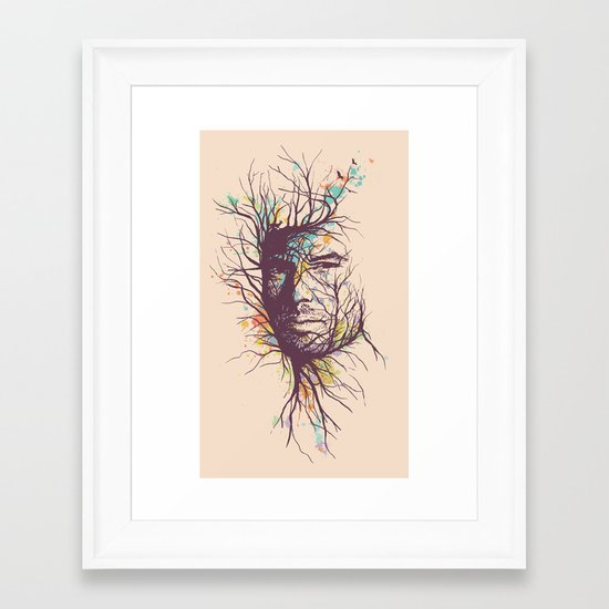 Natural Existence Framed Art Print