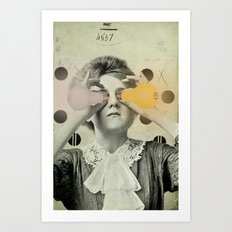 EYE SOCKETS Art Print