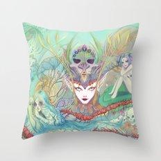 The Secret of Fantasies Throw Pillow