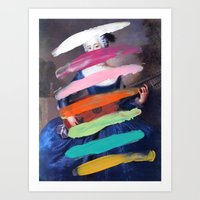 Art Print featuring Composition 505 by Chad Wys