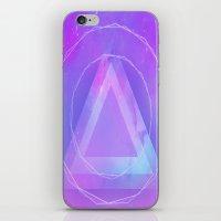 Galaxy Triangle iPhone & iPod Skin