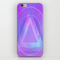 Galaxy triangle iPhone & iPod Skin